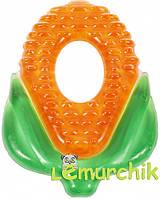 """Латексный прорезыватель для зубов с водой (грызун) Lindo """"Кукурузка"""""""