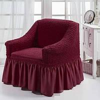 Чехол для кресла Burumcuk Бордовый