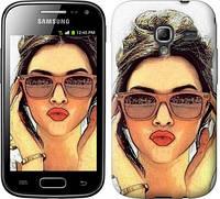 "Чехол на Samsung Galaxy Ace 2 I8160 Девушка_арт ""3005u-250"""