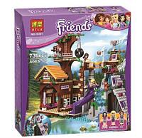 Конструктор Bela 10497 Френдс Спортивный лагерь: дом на дереве (аналог Lego Friends 41122)