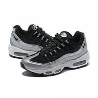 Кроссовки женские Nike Air Max 95  Black/Grey (найк аир макс)