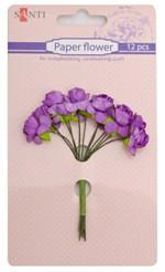 """Набор цветов бумажных для творчества сиреневый 952558 """"Santi"""""""