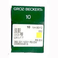 Иглы 29 BD/29 BC/1717 BE Groz-Beckert 80 RS