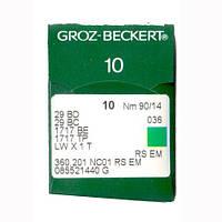 Иглы 29 BD/29 BC/1717 BE Groz-Beckert 90 RS