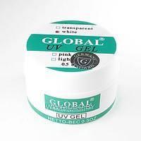 Гель Global 15 мл белый