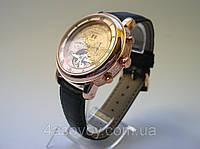 Мужские часы Patek - SKY@MOON  на  ремешке, механика с автозаводом, цвет золото, фото 1