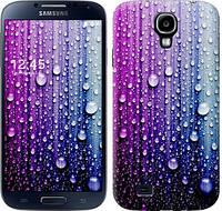 "Чехол на Samsung Galaxy S4 i9500 Капли воды ""3351c-13"""