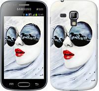 "Чехол на Samsung Galaxy Young S6310 / S6312 Девушка акварелью ""2829u-252"""