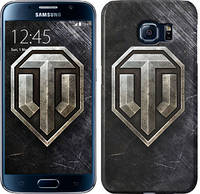 "Чехол на Samsung Galaxy S6 G920 World of tanks v3 ""948c-80"""