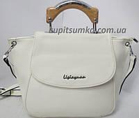 Женская сумка с оригинальной ручкой B.Oalengi