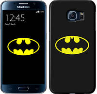 """Чехол на Samsung Galaxy S6 G920 Бетмен логотип """"3201c-80"""""""