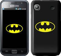 """Чехол на Samsung Galaxy S i9000 Бетмен логотип """"3201c-77"""""""