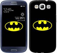 """Чехол на Samsung Galaxy S3 Duos I9300i Бетмен логотип """"3201c-50"""""""