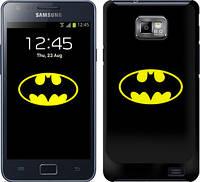 """Чехол на Samsung Galaxy S2 i9100 Бетмен логотип """"3201c-14"""""""