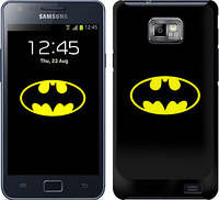 "Чехол на Samsung Galaxy S2 Plus i9105 Бетмен логотип ""3201c-71"""