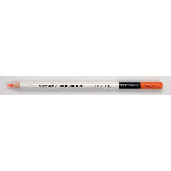 """Карандаш текстовыделитель """"KOH-I-NOOR"""" Highlighter 3411, оранжевый"""