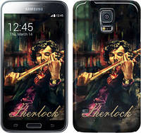 "Чехол на Samsung Galaxy S5 Duos SM G900FD Шерлок ""438c-62"""