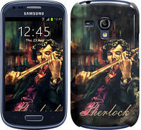 "Чехол на Samsung Galaxy S3 mini Шерлок ""438c-31"""