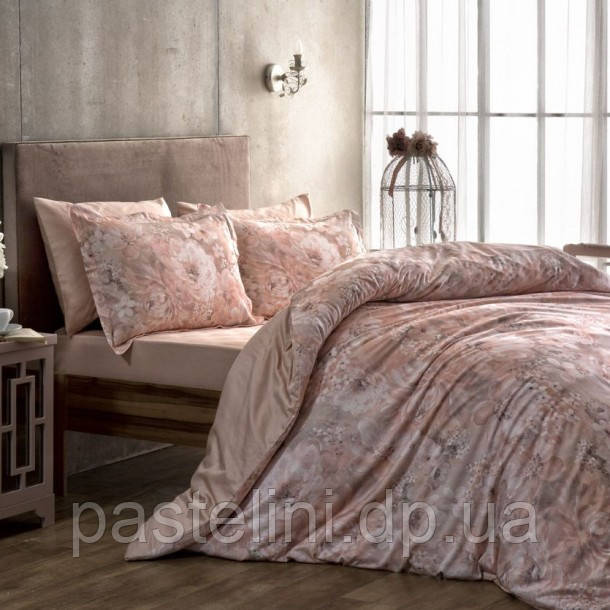 ТАС Digital Blanche pembe  семейный комплект постельного белья