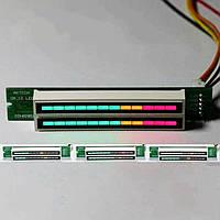 Двойной светодиодный LED  Стерео индикатор Уровня звука для УНЧ .