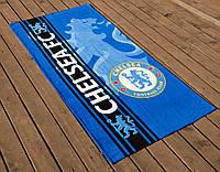 Полотенце пляжное велюр 75х150 Chelsea Lotus