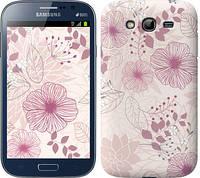 "Чехол на Samsung Galaxy Grand Neo I9060 цветочный узор м3 ""2259c-112"""