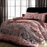 ТАС Digital евро постельное бельё сатин Chanelle pembe