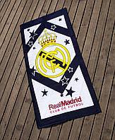 Полотенце пляжное велюр 75х150 Real Madrid Lotus