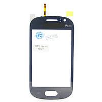 Сенсорный экран Touch screen Samsung S6810 blue