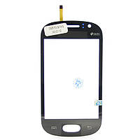 Сенсорный экран Touch screen Samsung S6810 black