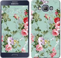 """Чехол на Samsung Galaxy A7 A700H Цветочные обои 2 """"862u-117"""""""