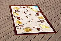Полотенце пляжное велюр 75х150 Sea Shell Lotus