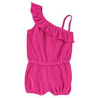Махровый песочник для девочки  6-12 месяцев