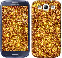 "Чехол на Samsung Galaxy S3 Duos I9300i Золото ""1687c-50"""