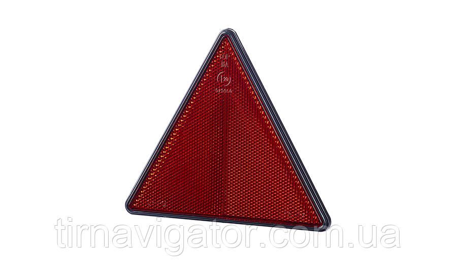 Треугольный рефлектор  с чорной рамкой