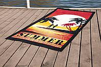 Полотенце пляжное велюр 75х150 Summer Sunset Lotus