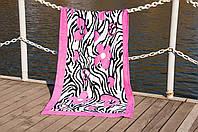 Полотенце пляжное велюр 75х150 Good Mood Lotus