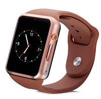 UWatch Умные часы Smart A1 Turbo Gold (+Гарантия)
