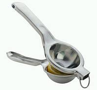 Соковыжималка ручная для половинки или дольки лимона или лайма металл SKU0000654, фото 1