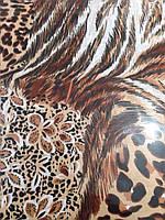 Леопардовый полуторный комплект Бязь Голд