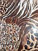 Леопардовый двуспальный комплект Бязь Голд