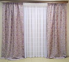 """Комплект штор """"Эдит"""" (вышивка) V2, фото 2"""