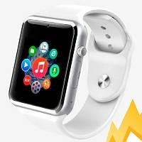 UWatch Умные часы Smart A1 Turbo White(+Гарантия)
