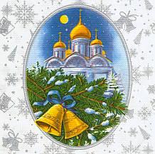 Декупажная салфетка Рождественская ночь 6795