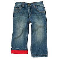 Детские джинсы на трикотажной подкладке.  2 года