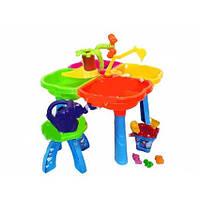 Песочный столик с набором и стульчиком НЕО 01-121