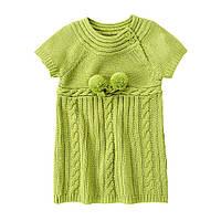 Детское вязаное платье. 12-18 месяцев