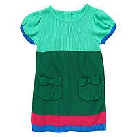Детское вязаное платье. 12-18, 18-24 месяца, 2 года