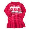Вязаное детское платье для девочки 18-24 месяца