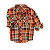 Детская фланелевая рубашка для мальчика 18-24 месяца